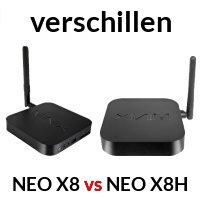 verschil neo x8 en neo x8h