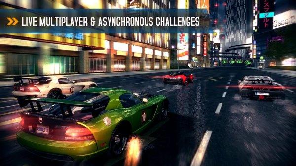 asphalt 8 multiplayer game
