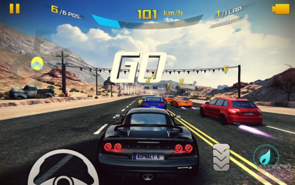 asphalt 8 hd game