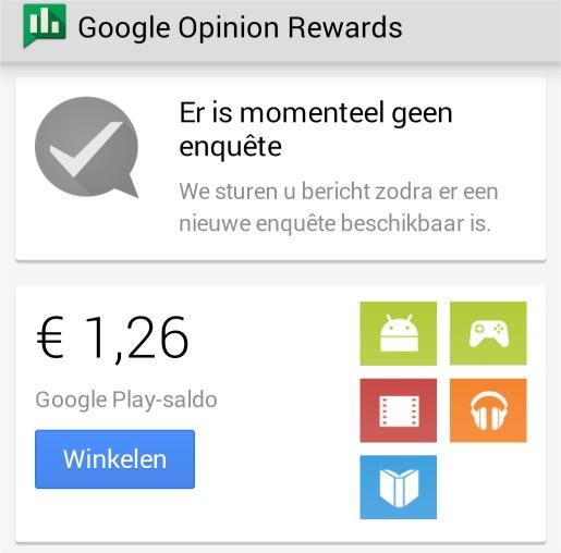 google opinion reward geld