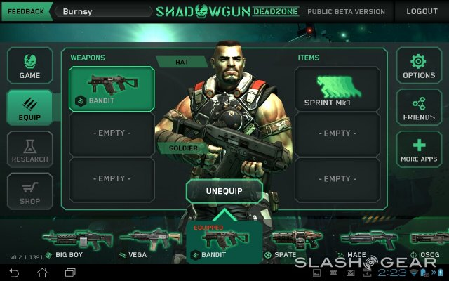 shadowgun deadzone wapens