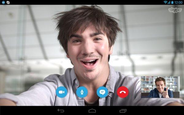 beeld bellen skype