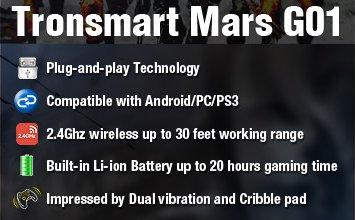 technologie tronsmart mars g01