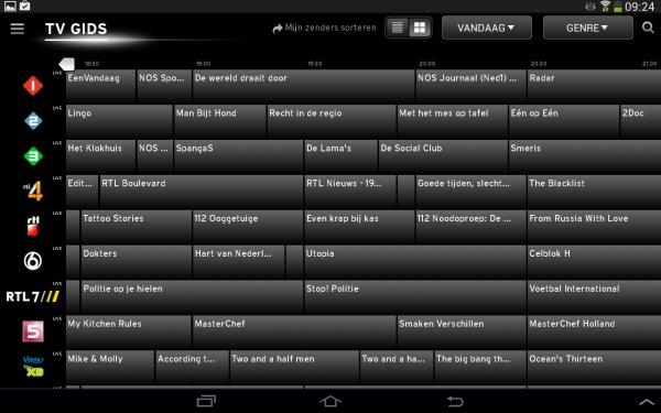 tv gids upc app
